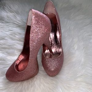 🔥🔥Bakers Pink Glitter Heels🔥🔥